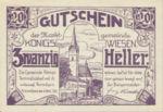 Austria, 20 Heller, FS 464