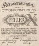 Austria, 10 Heller, FS 466a