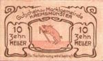 Austria, 10 Heller, FS 476Ia