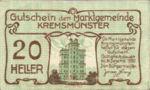 Austria, 20 Heller, FS 476Ib