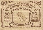 Austria, 50 Heller, FS 476Ib