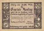Austria, 20 Heller, FS 465a