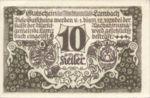Austria, 10 Heller, FS 496a