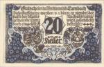 Austria, 20 Heller, FS 496a