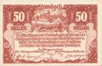 Austria, 50 Heller, FS 496a