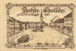 Austria, 10 Heller, FS 514