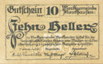Austria, 10 Heller, FS 601Ia