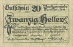 Austria, 20 Heller, FS 601Ia