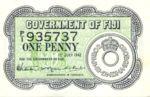 Fiji Islands, 1 Penny, P-0047a