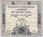 France, 15 Sol, A-0065