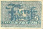 Germany - Federal Republic, 5 Pfennig, P-0011a