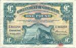 Gibraltar, 1 Pound, P-0015c