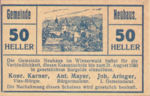Austria, 50 Heller, FS 646a