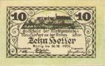 Austria, 10 Heller, FS 648a