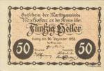 Austria, 50 Heller, FS 648a