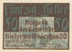 Austria, 50 Heller, FS 673a