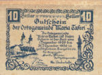 Austria, 10 Heller, FS 588