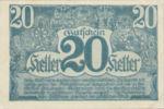 Austria, 20 Heller, FS 692Ib