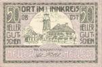 Austria, 50 Heller, FS 711b