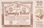 Austria, 20 Heller, FS 716a