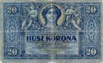 Hungary, 20 Korona, P-0038a