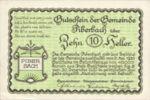 Austria, 10 Heller, FS 746a