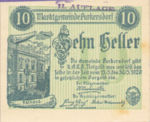 Austria, 10 Heller, FS 801b