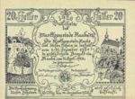 Austria, 20 Heller, FS 806b