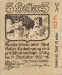 Austria, 5 Heller, FS 821I