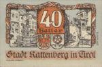 Austria, 40 Heller, FS 821II