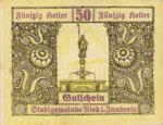 Austria, 50 Heller, FS 834IIa