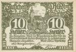 Austria, 10 Heller, FS 836Ib
