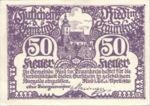 Austria, 50 Heller, FS 836Ib