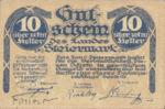 Austria, 10 Heller, FS 1014a