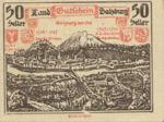 Austria, 50 Heller, FS 860II