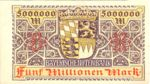 German States, 5,000,000 Mark, S-0932