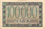 German States, 100,000 Mark, S-0985