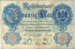 Germany, 20 Mark, P-0025a