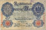 Germany, 20 Mark, P-0028