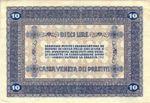 Italy, 10 Lira, M-0006 v2