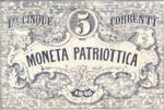 Italian States, 5 Lira, S-0188