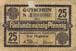 Germany, 25 Pfennig, A29.5a