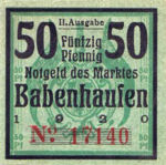 Germany, 50 Pfennig, B1.2c