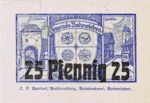 Germany, 25 Pfennig, B4.6a