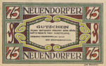 Germany, 75 Pfennig, 235.1