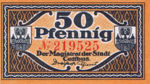 Germany, 50 Pfennig, C28.6d