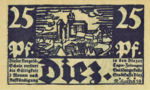 Germany, 25 Pfennig, D15.5d