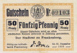 Germany, 50 Pfennig, F13.1