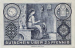 Germany, 25 Pfennig, F22.4