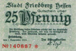 Germany, 25 Pfennig, F28.2